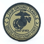 Patch, II Marine Expeditionary Force (Forward), MultiCam® with Velcro®