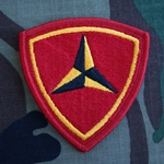 Patch, 3rd Marine Division, Color