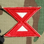 Patch, 10th Army, Cut Edge