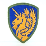 Patch, 13th Airborne Division, Color, Cut Edge