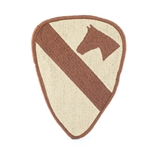 Patch, 1st Cavalry Division, Desert