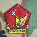 Patch, 35th Transportation Battalion, Color, Cut Edge