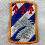 Patch, 3rd Sustainment Brigade, Color