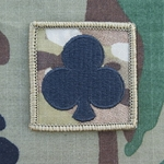 Helmet Patch, 327th Infantry Regiment MultiCam®, 10 Each