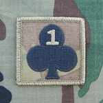 Helmet Patch, 1st Battalion, 327th Infantry MultiCam®, 10 Each