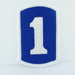 Patch, 1st Infantry Brigade, Color