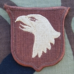 Patch, 101st Airborne Division Without Tab, Desert