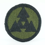 Patch, 3rd Sustainment Command, Color