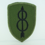 Patch, 8th Infantry Division, Color