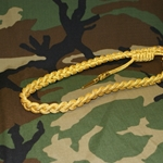 U.S. Army Service Aiguillette Synthetic Gold / Mylar