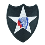 Patch, 2nd Infantry Division Color
