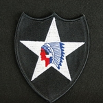 Patch, 2nd Infantry Division Color, Error