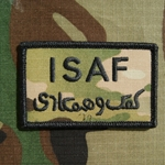 ISAF, MultiCam® Patch with Velcro®, Type 2