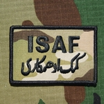 ISAF, MultiCam® Patch with Velcro®, Type 1H