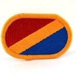 Oval, 11th Quartermaster Company
