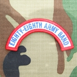 Patch, 88th Army Band Tab Color