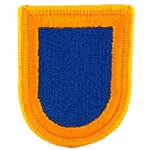 Beret Flash, 1st BCT, 82nd Airborne Division, Merrowed Edge
