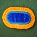 Oval, STB, 1BCT, 82nd Airborne Division, Type 2, Merrowed Edge