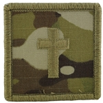 Branch Insignia, Christian, ACU with Velcro®