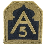 Patch, 5th Army, Color