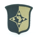 Patch, 101st Sustainment Brigade, MultiCam® with Velcro®