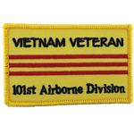 50th Anniversary Vietnam Veteran, Patch, 101st Airborne Division, Color with Velcro®