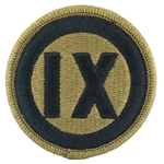 Patch, 9th Mission Support Command ACU with Velcro®