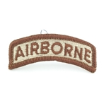 Patch, Airborne Tab Spice Brown Desert