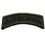 Patch, Airborne Tab, Subdued Black