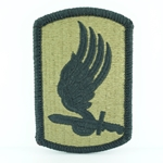 Patch, 173rd Airborne Brigade MultiCam® without Airborne Tab with Velcro®