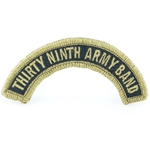 Patch, 100th Army Band Tab Color