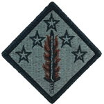 Patch, 20th Support Command ACU with Velcro®