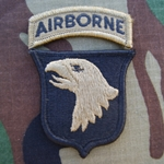 Patch, 101st Airborne Division With Tab, MultiCam® with Velcro®