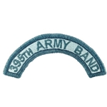 Patch, 395th Army Band Tab Color