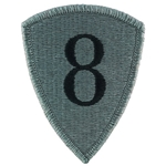 Patch, 8th Personnel Command, Color