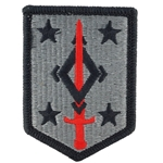 Patch, 4th Maneuver Enhancement Brigade, MultiCam® with Velcro®