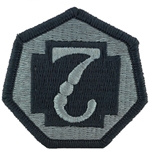 Patch, 7th Medical Command, Color