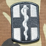 Patch, 1st Medical Brigade ACU with Velcro®
