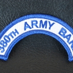 Patch, 380th Army Band Tab Color