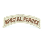 Patch, Special Forces Tab Desert