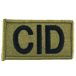 Patch, Criminal Investigation Commandl (CID), MultiCam® with Velcro®