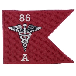 Patch, Alpha Company, 86th Combat Support Hospital