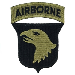 Patch, 101st Airborne Division With Tab, One Piece, MultiCam®