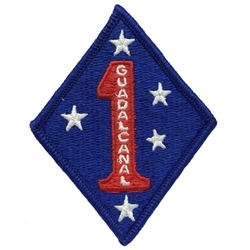 Patch, 1st Marine Division Color