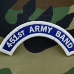 451st Army Band Tab, A-4-1079