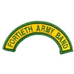 40th Army Band, A-1-1063