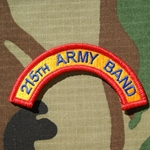 215th Army Band Tab, A-1-1059