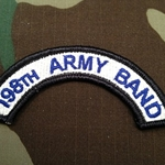 198th Army Band Tab, A-1-1054
