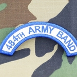 484th Army Band Tab, A-1-1049