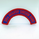 38th Infantry Division Band Tab, A-1-1043